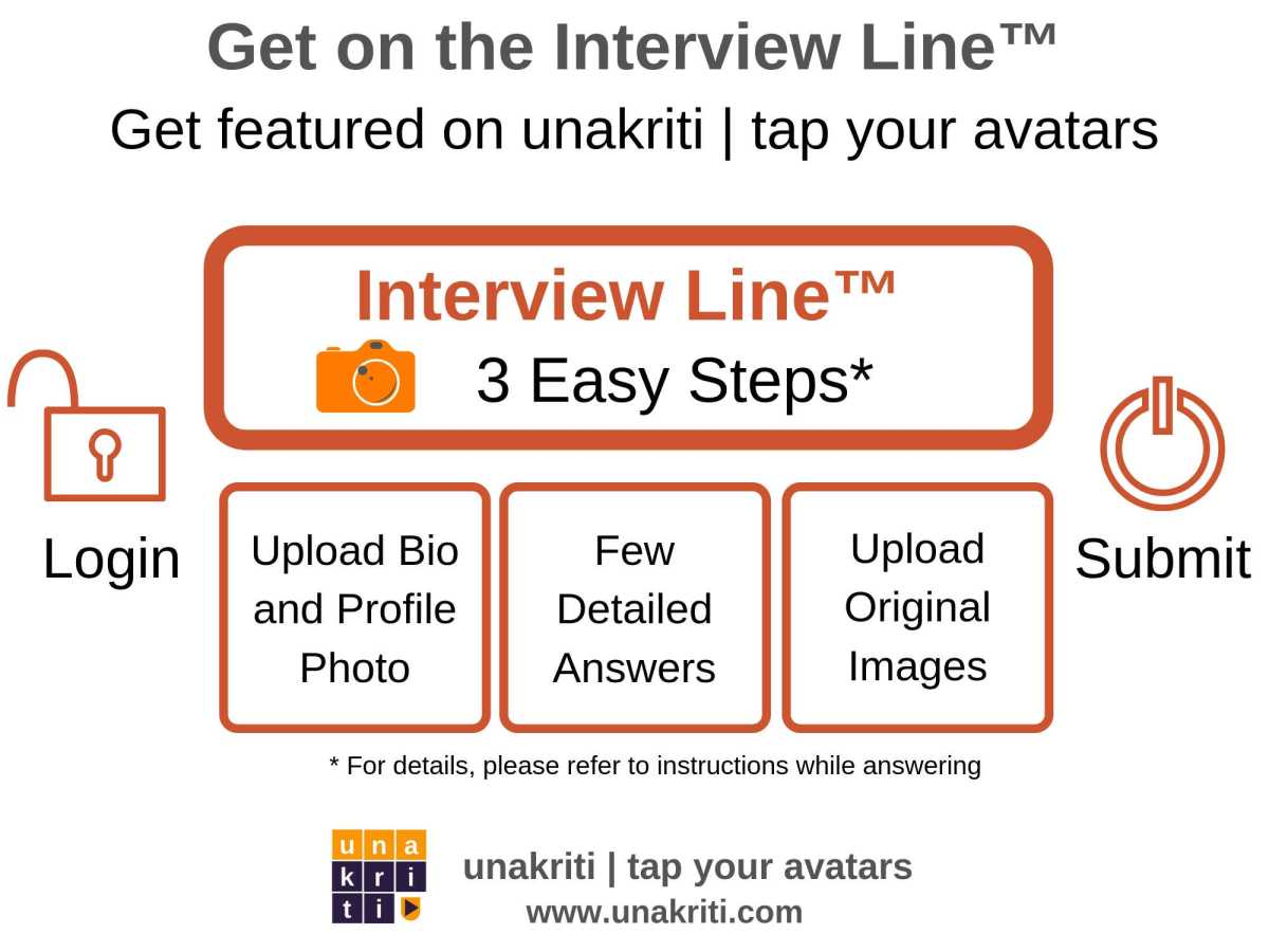 What are the steps to complete an interview on Unakriti?