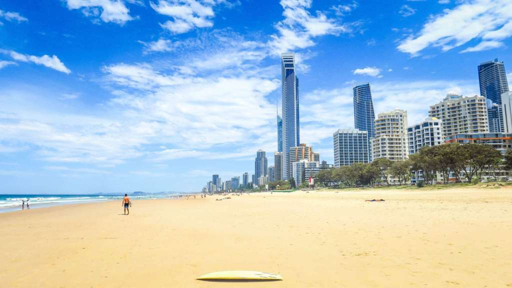 Surfers Paradis sur la Gold Coast
