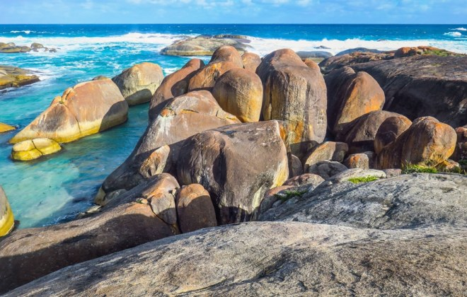 Elephant Rocks à Denmark en Australie-Occidentale