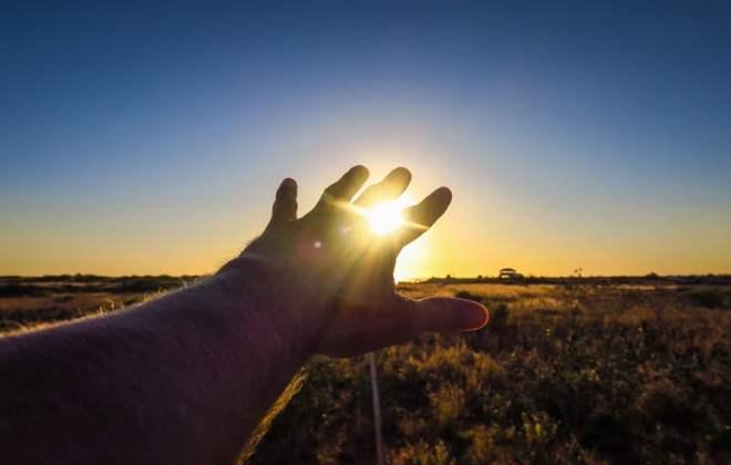 Coucher de soleil à Exmouth