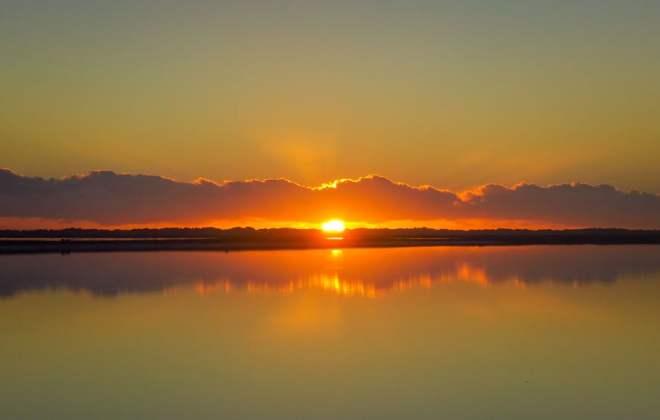 Lac rose à Port Gregory
