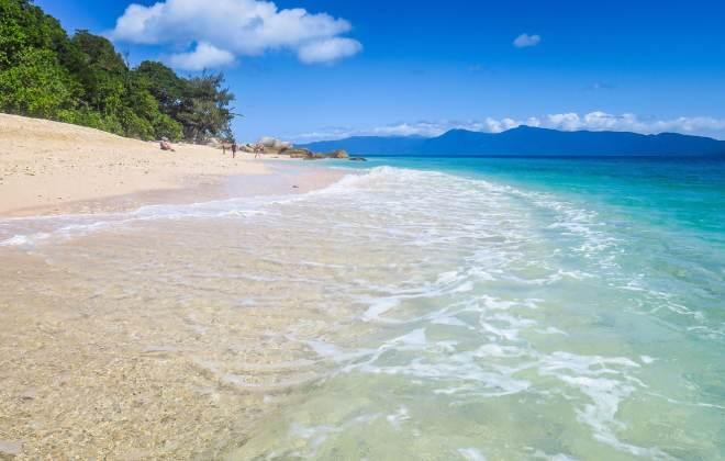 Plage de Nudey Beach à Fitzroy Island