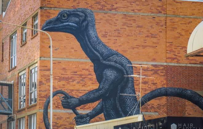 Street Art sur les murs de Townsville