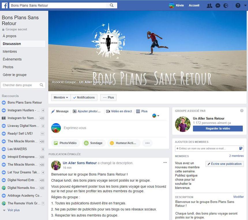 Bons Plans Sans Retour - Groupe FB