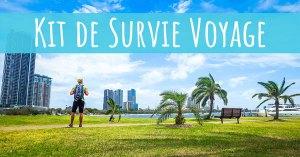 Kit de Survie Voyage