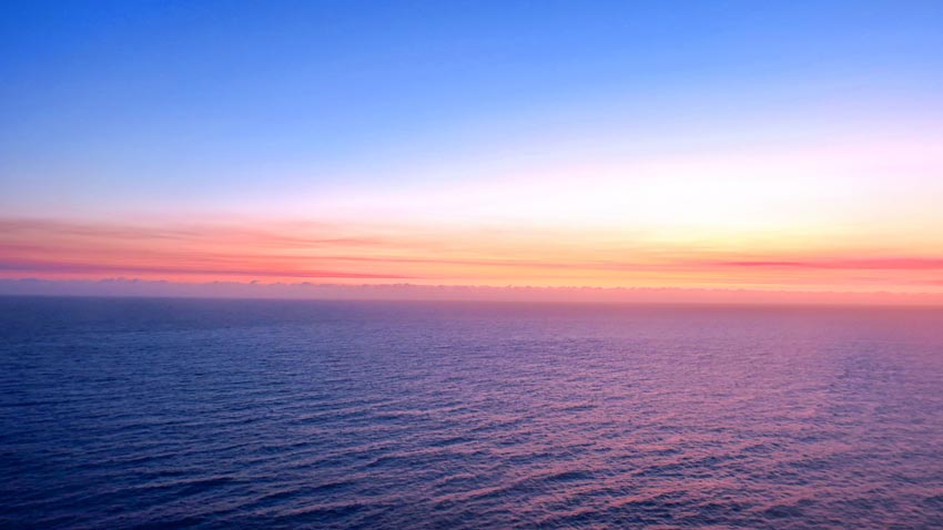 Lever du soleil à Byron Bay