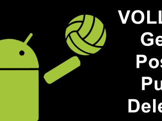 android-volley-tutorial