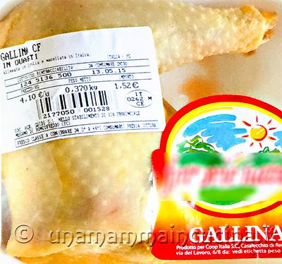 Gallina per brodo - Ricetta di unamammaincucina.it
