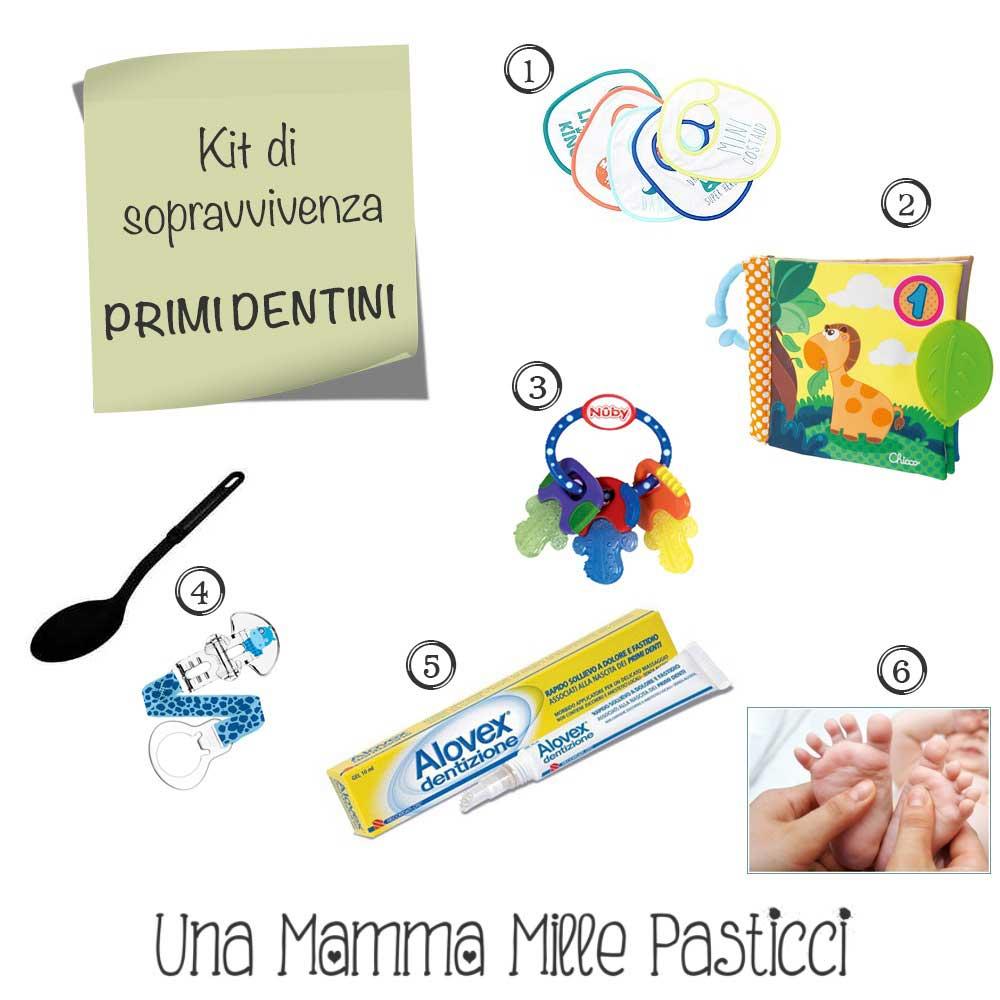 dentini kit sopravvivenza - Una Mamma Mille Pasticci
