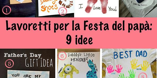Lavoretti per la festa del papà: 9 idee