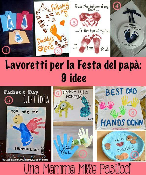 Lavoretti per la festa del papa - Una Mamma Mille Pasticci