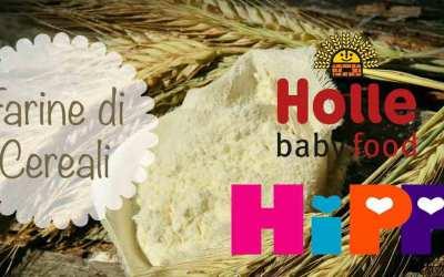 Farine di cereali per svezzamento: Hipp e Holle a confronto