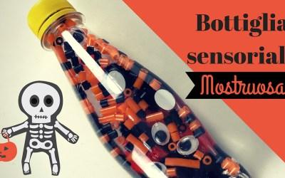 Bottiglia sensoriale Mostruosa