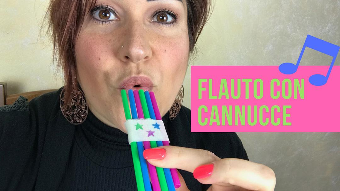 Flauto con Cannucce
