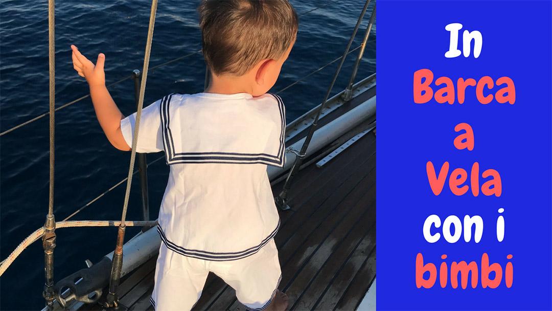 In barca a vela con i bambini