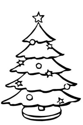 Dettagli natale addobba il tuo abete! Disegni Dell Albero Di Natale Da Stampare E Colorare Ecco I Piu Belli