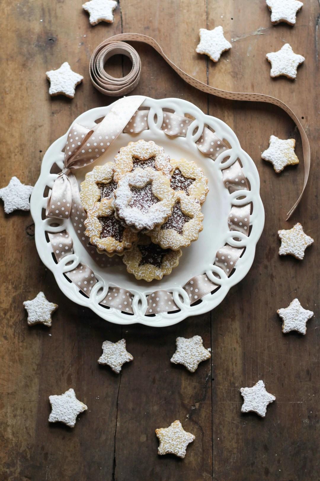 biscotti stelline alla nutella