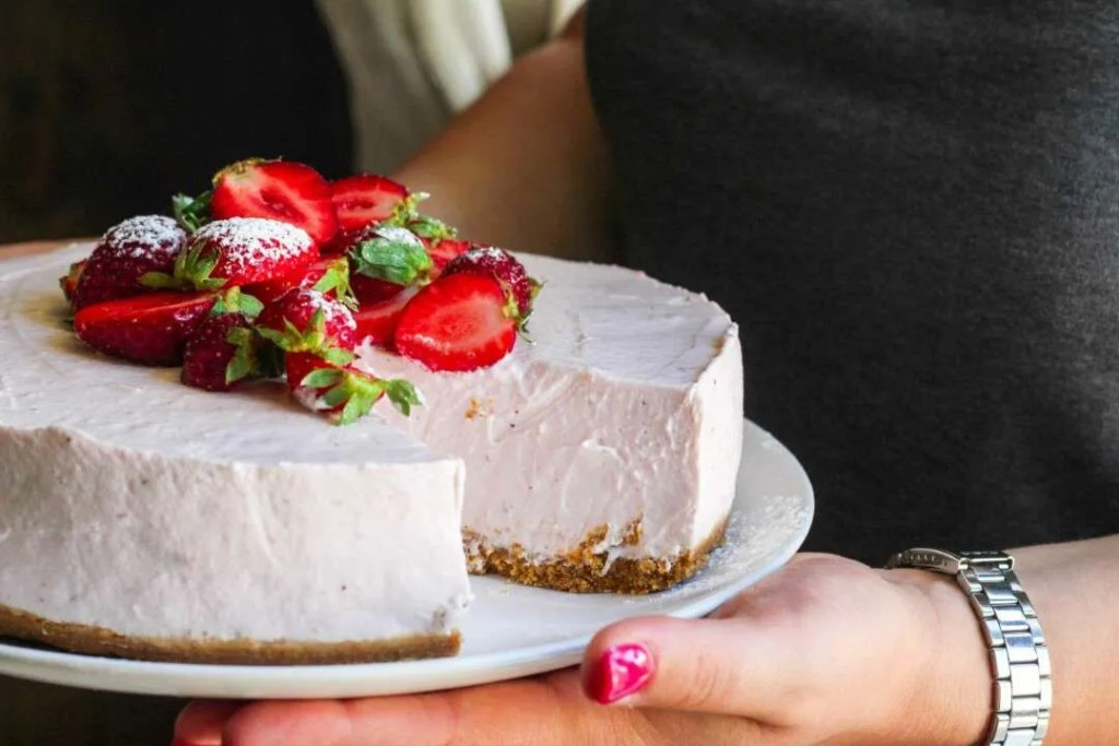 cheesecake alla fragola nobake