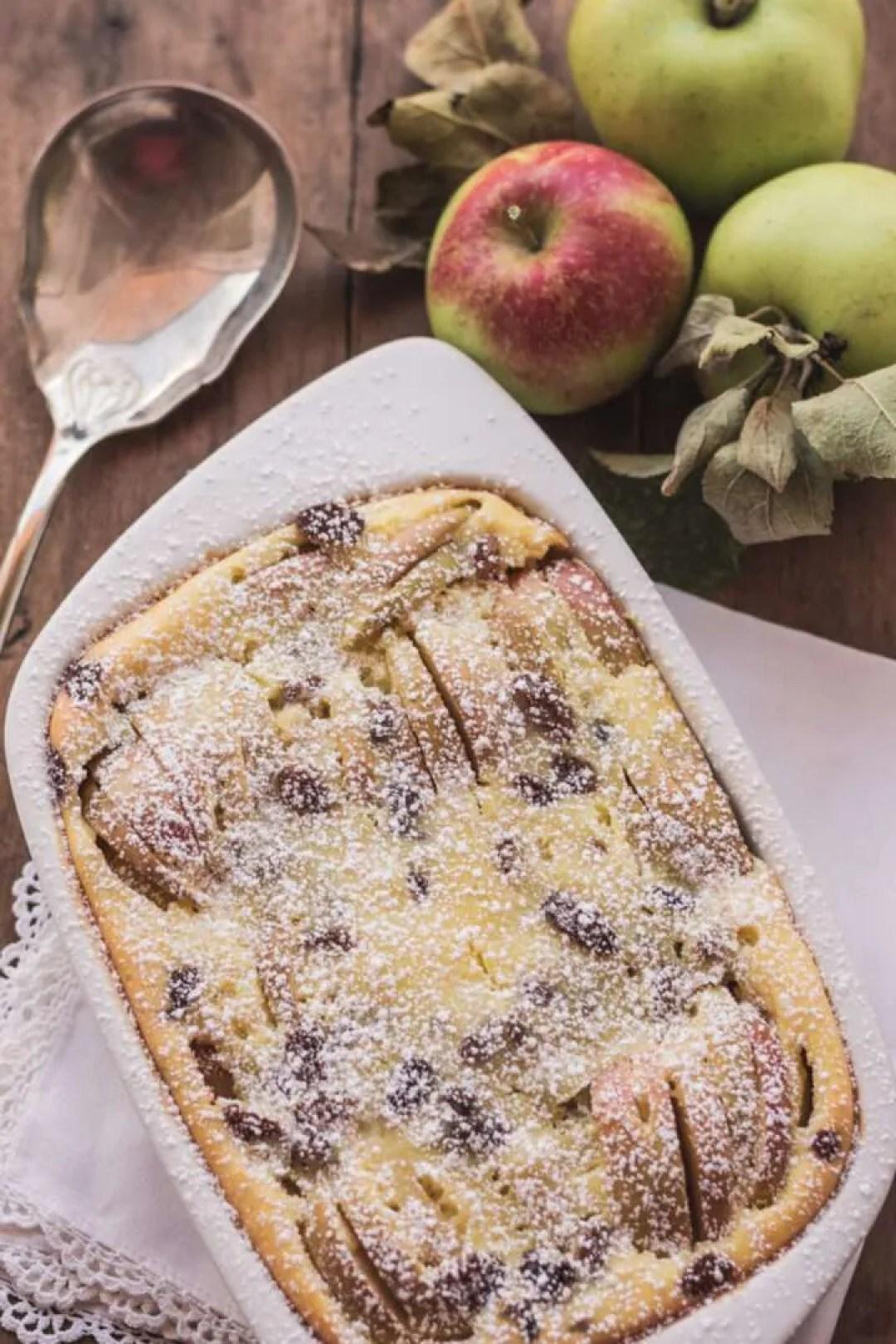 la ricetta del clafoutis con le mele
