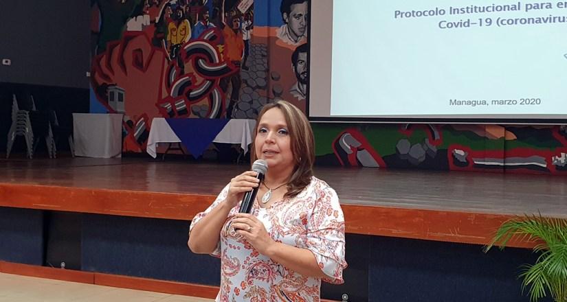 UNAN-Managua presenta protocolo institucional ante el COVID-19
