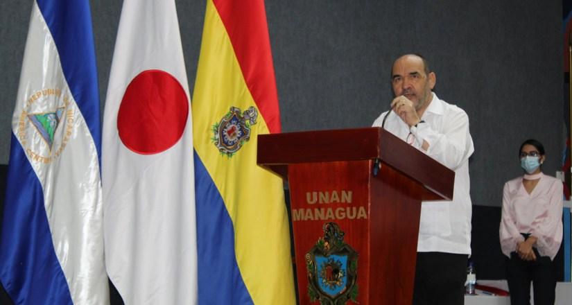 El doctor Luis Alfredo Lobato Blanco, Vicerrector General de la UNAN-Managua