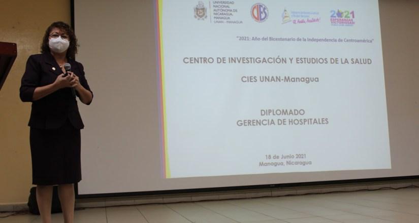 La maestra Lilliam de Jesús Lezama Gaitán, Directora del CIES