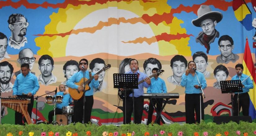 La agrupación Vientos de Libertad de la UNAN-Managua realizó presentación cultural