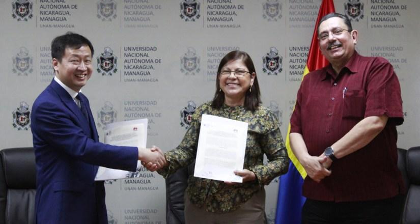 UNAN-Managua y Huawei impulsan la actualización tecnológica para fortalecer las capacidades de la comunidad universitaria