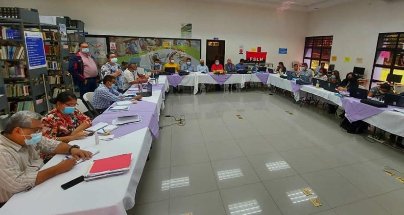 UNAN-Managua se prepara para la entrega del informe final de Autoverificación de Obligacione
