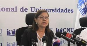 Consejo Nacional de Universidades comparte metas de la educación superior para el año 2021