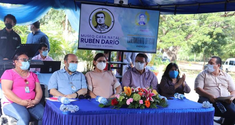 UNAN-Managua dedica velada cultural al 154 aniversario del natalicio de Rubén Darío