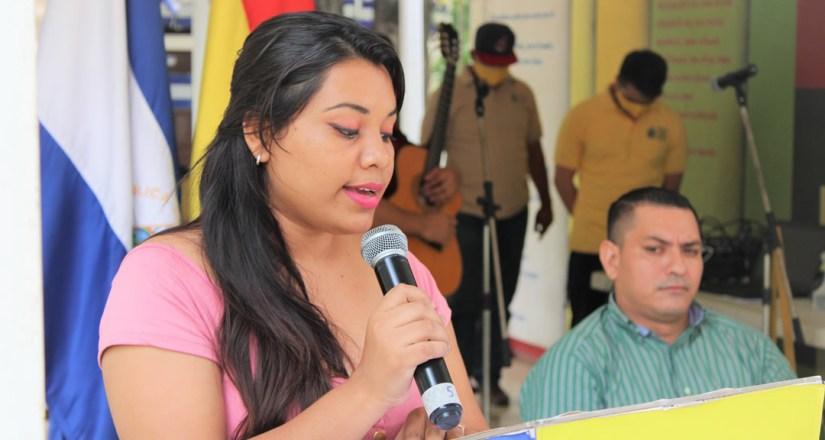 Andrea Ferrufino Flores, Presidenta de UNEN UNAN-Managua