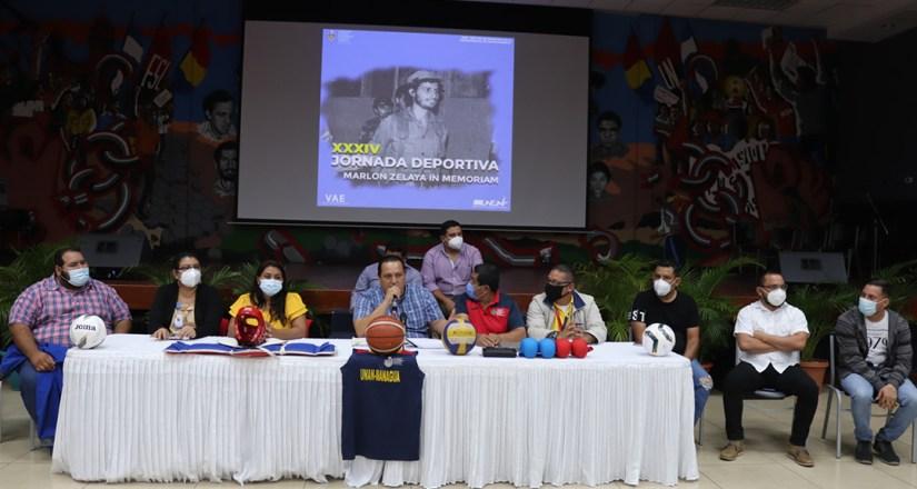 Presentan agenda de actividades de la Jornada Deportiva Marlon Zelaya in Memoriam 202