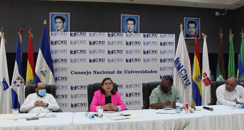 Consejo Nacional de Universidades realiza su última sesión ordinaria