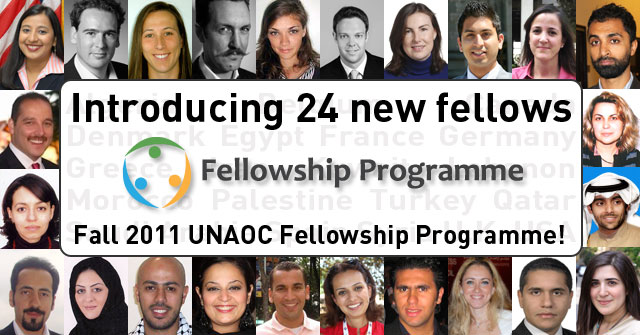 Fellowship News: Announcing 24 new fellows for the Fall 2011 UNAOC Fellowship Programme!