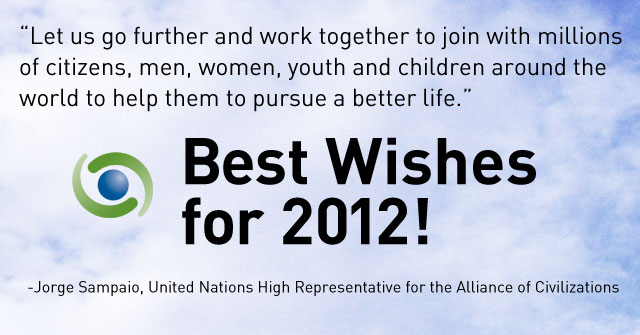 Best Wishes for 2012! by High Representative for the United Nations Alliance of Civilizations