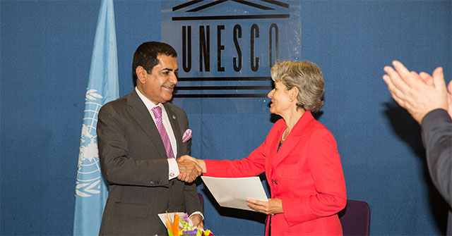 The High Representative for the United Nations Alliance of Civilizations and Director General of UNESCO Sign an MoU between the Alliance of Civilizations and UNESCO New York – September 25, 2013