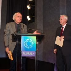 PLURAL+ 2010 SIGNIS Award, Presented by Frank Frost, SIGNISand PLURAL+ 2010 UNTV Short Feature Award Presented by Chaim Litewski, Chief, Television Section, News & Media Division, UN