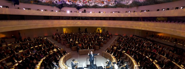 UNAOC participates in the concert on Human Rights Day at UNOG