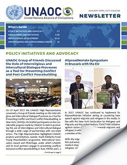 UNAOC Newsletter – Issue 8