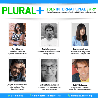 Internationally Renowned Filmmakers and Migration Experts from Five Continents Take Part in PLURAL+ 2016 Youth Media Festival Jury