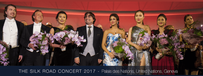 """The Silk Road Concert"" Promoting Dialogue Among Cultures kicks-off at Palais Des Nations,  co-organized by UNAOC and Fundación Onuart"