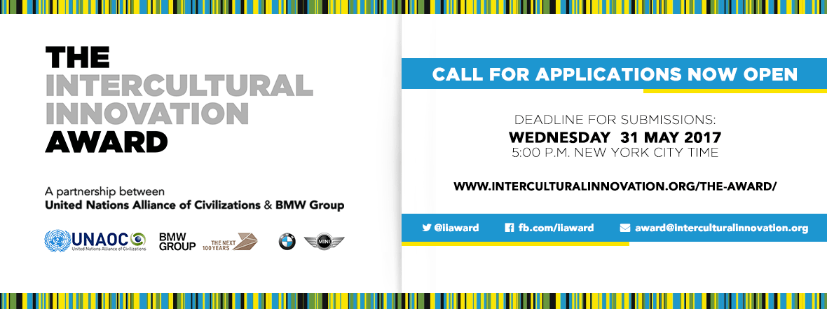 United Nations Alliance of Civilizations and the BMW Group Launches Search for Innovative Projects that Promote Intercultural Dialogue and Understanding
