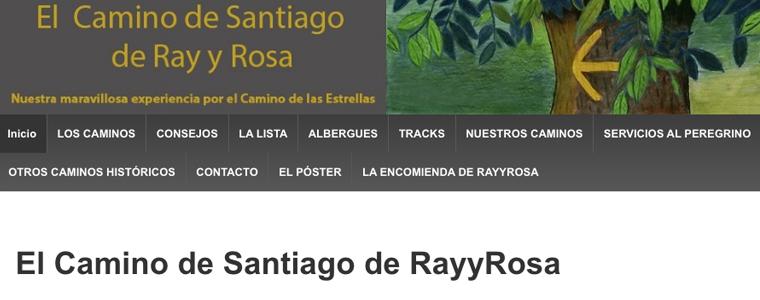 RayRosa Cammino di Santiago   Una Passeggiata