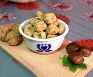 GNOCCHI DI CASTAGNE CREMOSI ALLE NOCI (senza glutine e uova)