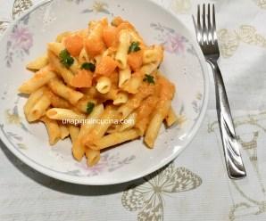 PASTA NUVOLA DI ZUCCA (senza panna, ricetta vegetariana)