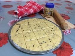 Torta Biscotto - Torta Cookies con Farina di Riso e Burro di Arachidi