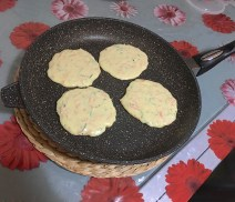 Pancakes Salati Carote e Zucchine 2