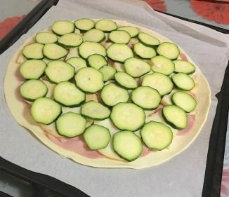 Rustico Zucchine Prosciutto e Formaggio 2