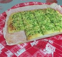 Focaccia con Zucchine o Patate 6